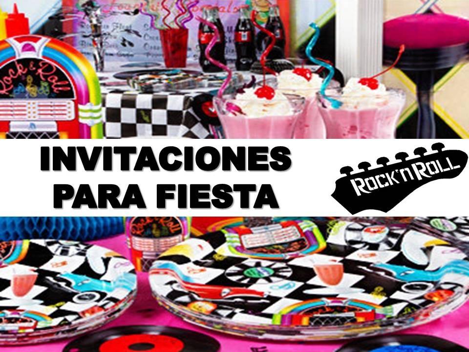 invitacion fiesta: