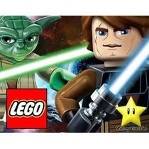 Kit Imprimible Lego Star Wars Diseña Tarjetas Cumples Y Mas