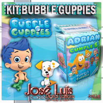 Bubble Guppies Invitacion Carteles Kit Imprimible Jose Luis