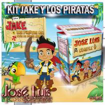 Jake Y Los Piratas Invitaciones Kit Imprimible Jose Luis