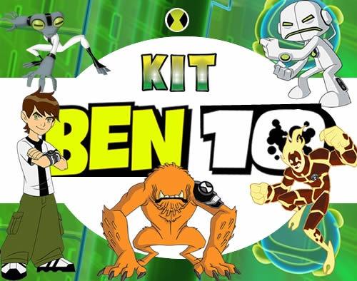 Como Hacer Tarjetas De Invitación De Ben 10 Imagui