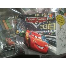 Invitacion Cars Tipo Cuento Para Colorear