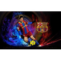 Kit Imprimible Fc Barcelona Futbol Messi Fifa Deportes Balon