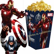 Kit Imprimible Los Vengadores Avengers Candy Bar Cumples