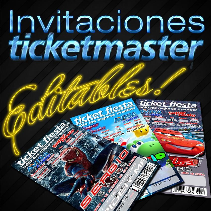 ticketmaster concert tickets to pdf