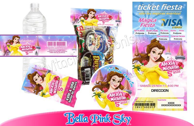 Invitaciones La Bella 1kit Imprimible Personalizado Vv4 - $ 150.00 ...
