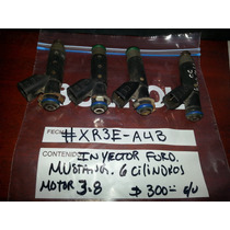 Inyectores De Ford Mustang Motor 3.8 6 Cilindros