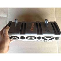 Base Soporte Aluminio De Inyectores De Motor Platina Clio.
