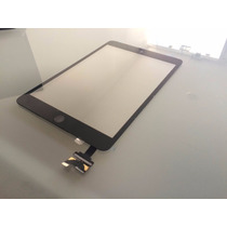 Digitalizador Cristal Touchscreen Ipad Mini Con Home.. Negro