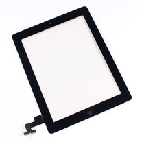Digitalizador Touch Screen Para Ipad 2 Color Negro