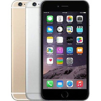 Iphone 6 Plus 128gb Cualquier Compañia Negro + Case Apple