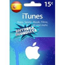 Tarjeta Gift Card Itunes España 15 Euros Ipod Ipad Iphone