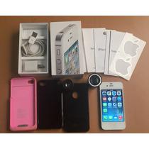 Apple Iphone 4s De 16gb Color Blanco Desbloqueado Excelente
