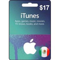 Tarjeta Gift Card Itunes México $17 Usd Iphone Ipod Mac Y Pc