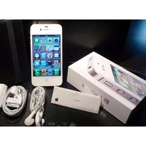 Iphone 4s 16gb Desbloqueado Con Caja Y Accesorios