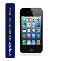 Iphone 4s 16gb Redes Sociales Cam 8mp Gps Salida Tv
