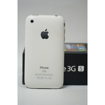 Iphone 3gs 16gb Blanco Desbloqueado Caja Y Accesorios Apple