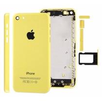 Tapa Trasera Iphone 5c Original 5 Colores + Kit + Tornillos