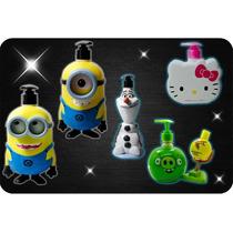 Minions Jabón Líquido Kit 2 Minions Y 1 Hello Kitty Gratis