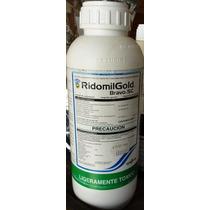 Ridomil Gold Bravo 1lt Metalaxil+clorotalonil Fungicida Agr.