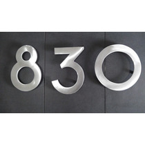 Numero Residencial De Aluminio Modelo Portugal