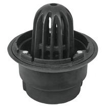 Coladera Hierro Con Cupula Salida 4 Para Azotea Foset 45303
