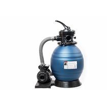 Filtro Para Alberca - Sistema Con Filtro 12 + Bomba 0.35 Hp