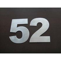 Números Para Casa U Oficina, Acero Inoxidable K