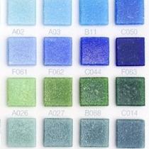 Mosaico Veneciano Azul Acapulco 2x2 Vbf