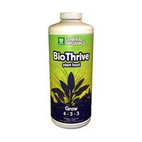 Fertilizante Biothrive Grow 946ml / Hidroponía / Orgánico