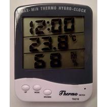 Termohigrometro Digital Humedad Y Temperatura Max-min