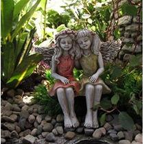 Miniatura De Hadas Jardín Mejores Amigos