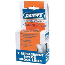 - Carrete Línea Draper 56726 Nylon Líneas 6mx 1.4mm Para E