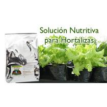 Solucion Hidroponica Hortalizas Nutrientes Para 250lts