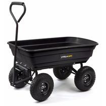 Carro Remolque Gorilla Cart Carga Jardinería Taller 1200lb