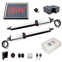 Pistones Actuadores Para Puertas Con Panel Solar