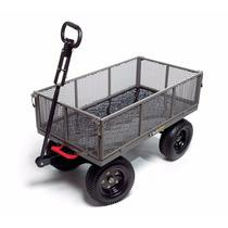 Carro Remolque Plegable Usos Múltiples Jardinería 1200lb