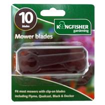 Cortadora De Césped Blade - 10 Paquete Clip En Plástico Mo