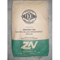 Sulfato De Zinc Zn 1kg Fertilizante Soluble Polvo
