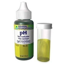 Indicador General Test Hidroponía Ph 1 Oz Por General Hydrop