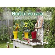Aprende Hacer Huerto Casa Jardín Cultivo Siembra Urbano