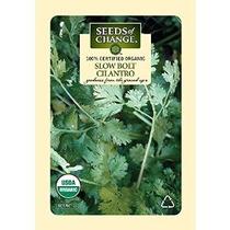Semillas Del Cambio Orgánico Certificado Cilantro Perno Lent