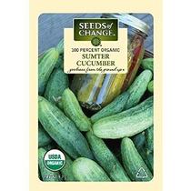 Semillas Del Cambio Orgánico Certificado Pepino Sumter - 1.7