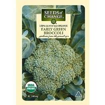 Semillas Del Cambio Orgánico Certificado Brócoli Temprano Ve