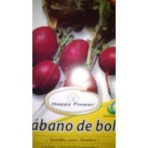 1 Gramo De Semillas De Rabano Rojo De Bola - Cultivo Seeds
