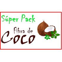 Superpack Fibra De Coco (sustrato Orgánico/hidroponia)
