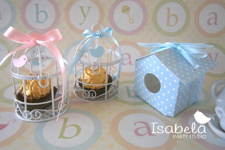 Jaula decorativa mesa de dulces para bodas bautizos baby for Mesa dulce para bautismo