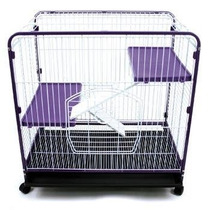 Jaula Para Animales Mascotas Aves 3 Niveles Hm4