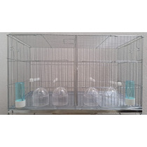 Jaula Para Cría De Canarios Tipo Europeo