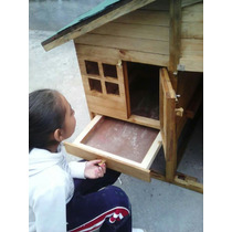 Casa Para Conejo, Cuyo, Hurón, Chinchilla, Conejera De Lujo